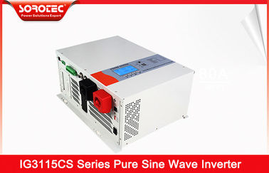 China Reiner hybrider Solarinverter der Sinus-Wellen-230VAC mit Batterie-Art 8000W fournisseur