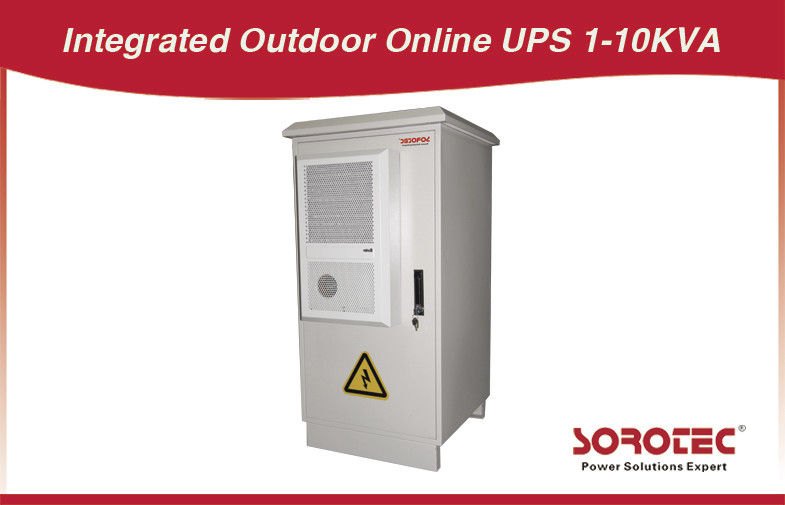 240 V AC 60 Hz Hochfrequenz Outdoor UPS online 3KVA / 2400W, 6KVA / 4800W fournisseur